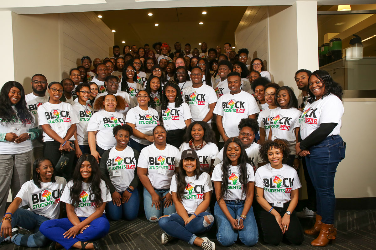 Attendees of black students lead conference for college students